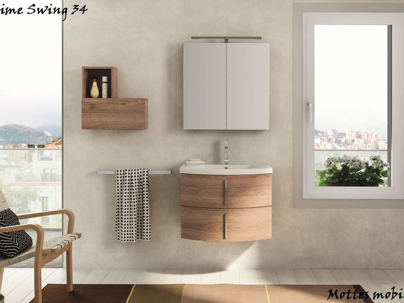 Lime arredo bagno personalizzabile outlet mottes mobili for Arredo outlet