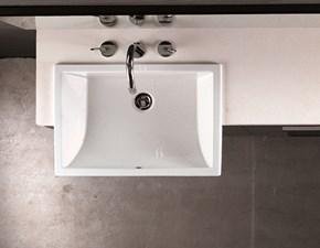 Moab - bl3 - lavabo in ceramica per semi-incasso Artigianale: mobile da bagno A PREZZI OUTLET
