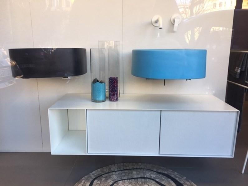 Moab80 elletre mobile sospeso artigianale mobile da bagno a prezzi outlet - Mobile bagno sospeso prezzi ...