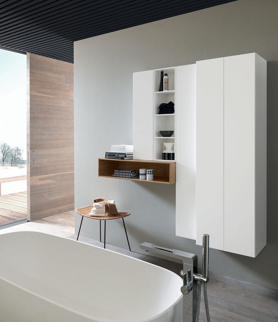 Mobile a terra per bagno con lavandino ad appoggio nuovo - Bagno nuovo prezzi ...