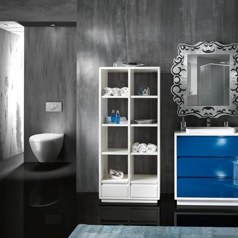 Mobile arredo bagno con i cassettoni lavello ad incasso - Specchiera bagno prezzi ...