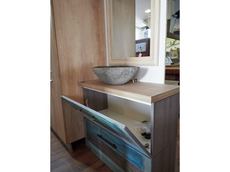 Mobile arredo bagno industrial outlet etnico mobile bagno for Arredo bagno outlet