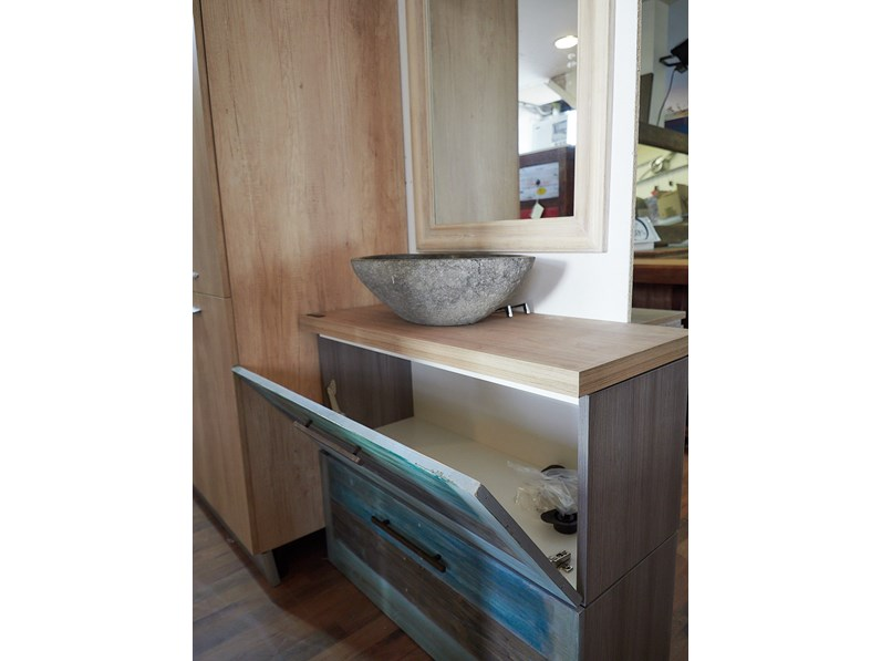 Mobile arredo bagno industrial outlet etnico mobile bagno for Outlet mobile