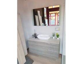 Mobile arredo bagno Sospeso Cerasa Mobile sospeso con top in gres e lavabo da appoggio a prezzo scontato