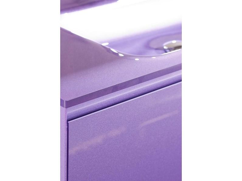 Mobile arredo bagno sospeso euro bagno mobile cm 105 for Arredo bagno viola