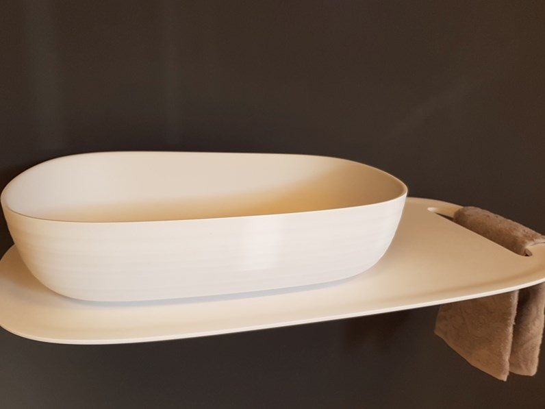 Mobile arredo bagno sospeso falper lavabi da parete in offerta for Lavabi arredo bagno