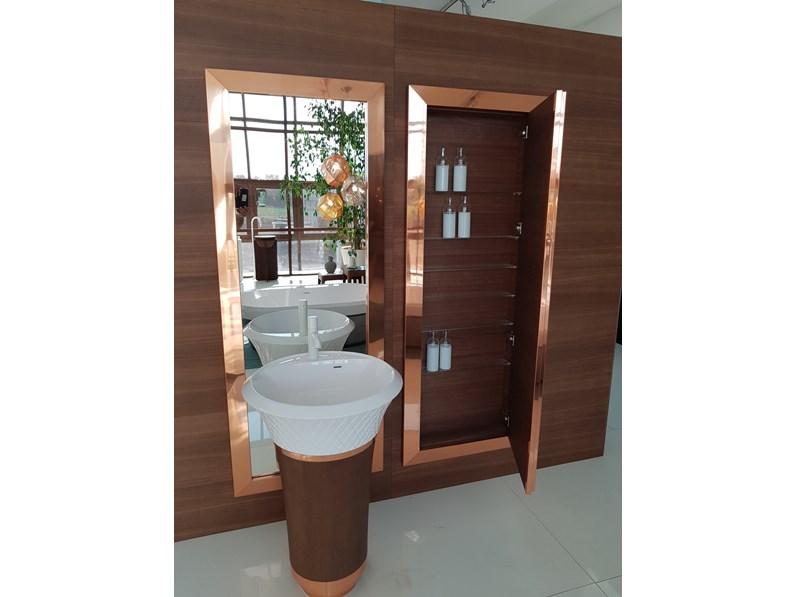 Mobile arredo bagno sospeso falper specchio contenitore for Prezzo specchio bagno