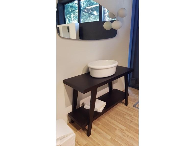 Mobile arredo bagno sospeso falper specchio in svendita