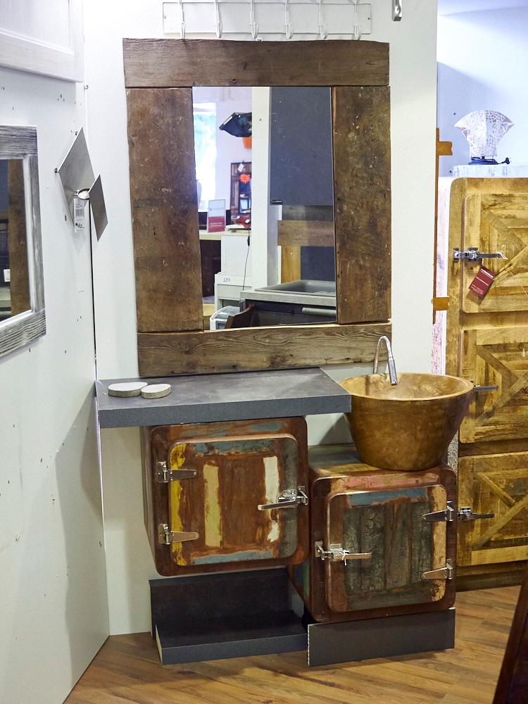Mobile bagno 2 sportelli vintage ghiacciaia prezzo offerta arredo bagno a prezzi scontati - Mobile bagno grezzo ...