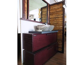 Mobile bagno A terra Bagno red legno e bambu in offerta Nuovi mondi cucine in offerta