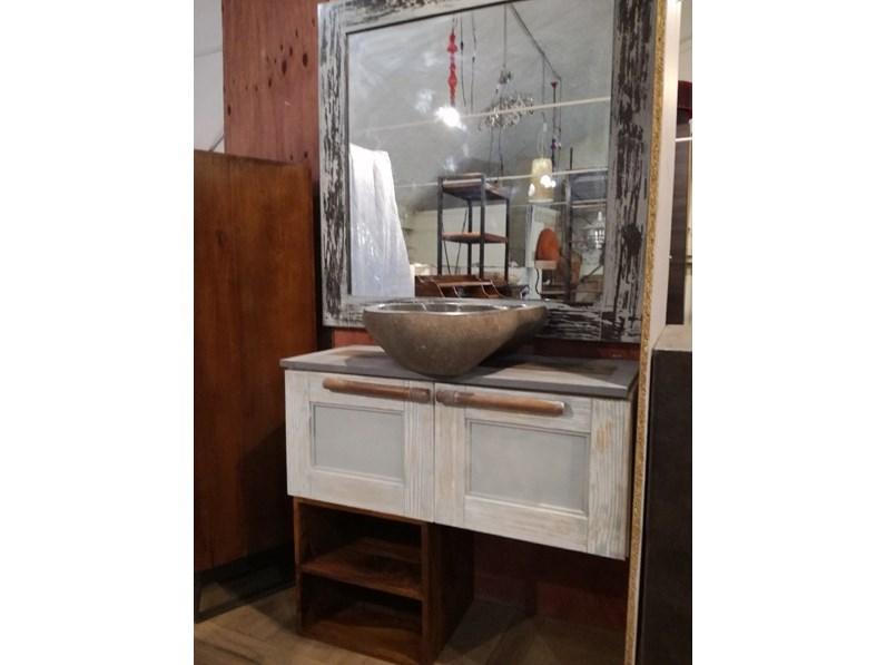 Mobile bagno A terra Bagno vintage shabby chic Nuovi mondi cucine ...