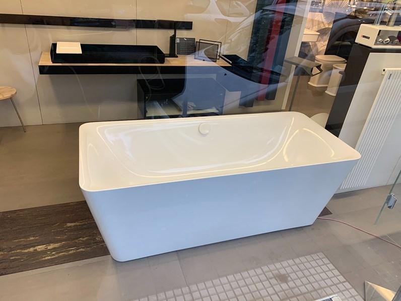 Mobile Bagno A Terra Kaldewei Vasca Libera Installazione 175x75 Cm In Acciaio Smaltato 1174 Incava Artigianale