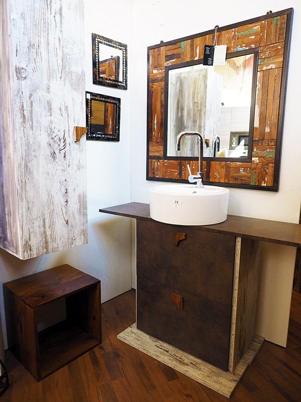 Mobile bagno abete anticato arredo bagno a prezzi scontati for Arredo bagno piemonte