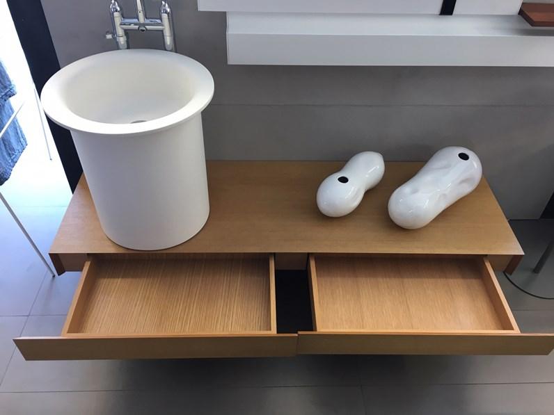 Mobile bagno agape design top evolution in teak in offerta for Arredo bagno design outlet