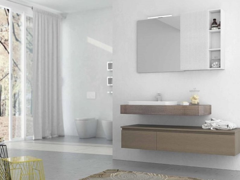 Arredo Bagno Artigianale : Mobile bagno artigianale new smart in offerta outlet