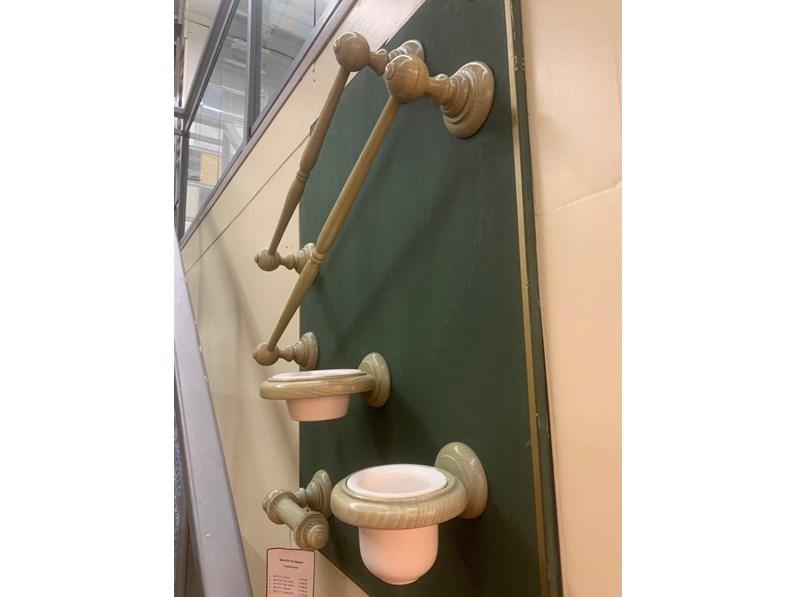 Accessori In Legno Per Bagno : Mobile bagno artigianale set accessori bagno in legno con uno