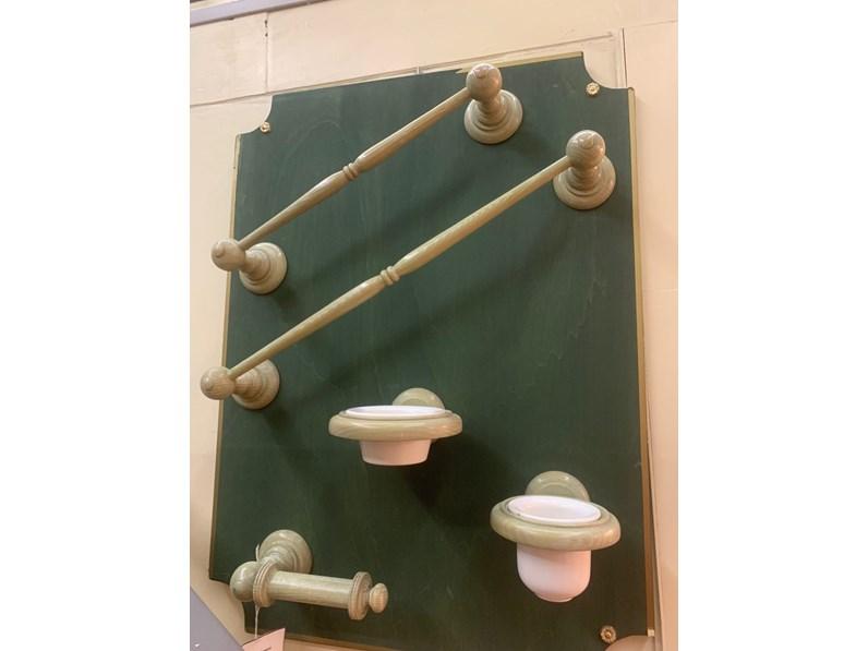 Mobile bagno artigianale set accessori bagno in legno con uno sconto del 50 - Accessori bagno in legno ...