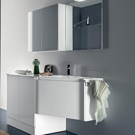 Mobile bagno attrezzato a lavanderia by rab arredobagno - Rab arredo bagno ...