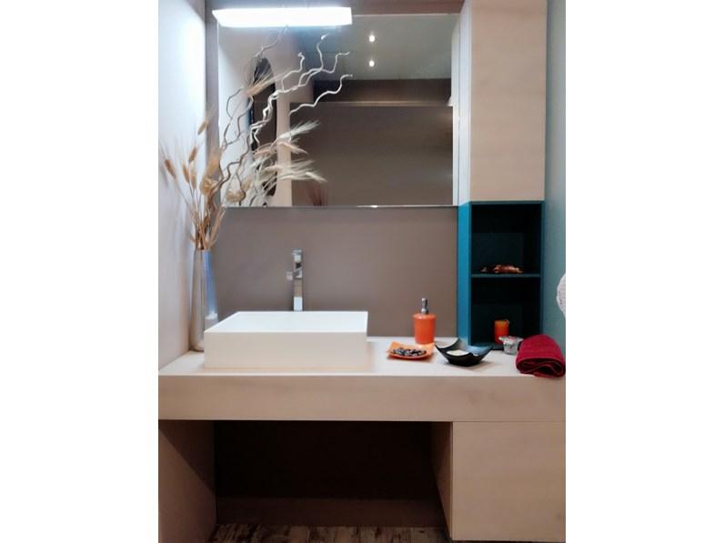 Mobile bagno Azzurra mod. Lime legno sherwood chiaro IN OFFERTA OUTLET