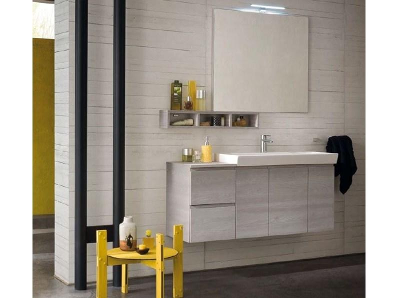 Mobile bagno b go prezzo offerta outlet for Arredo bagno cesano maderno