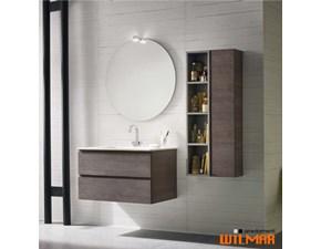 Mobile bagno Bagno sospeso con specchiera sfera Compab SCONTATO 21%