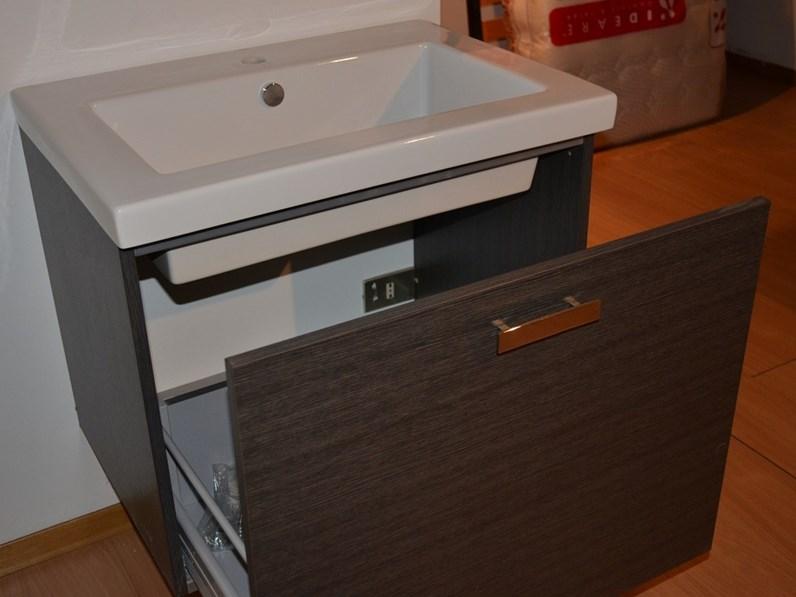 Mobile bagno base lavello sospeso di compab in offerta for Mobile lavello bagno