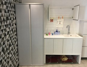 Mobile bagno Birex Composizione laminato bianco IN OFFERTA OUTLET