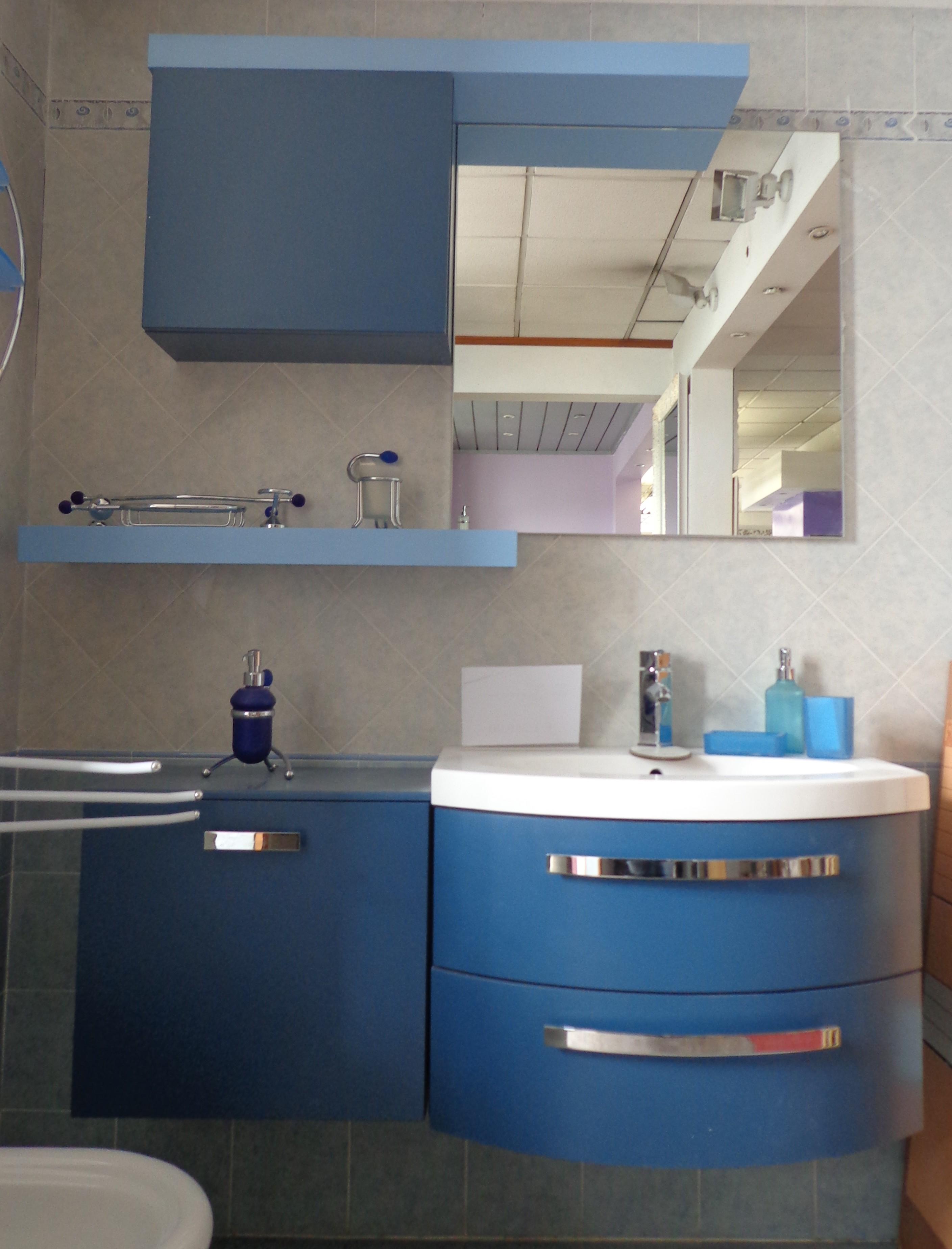 Mobile bagno chunga arredo bagno a prezzi scontati - Mobile bagno blu ...