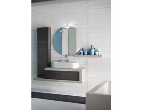 Mobile bagno Compab con specchiera e faretto sconto -36%