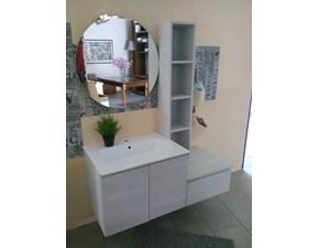 Mobile bagno Compab con specchio tondo prezzo outlet
