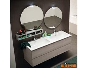 Mobile bagno Compab Mobile con doppi lavelli  con uno sconto del 18%