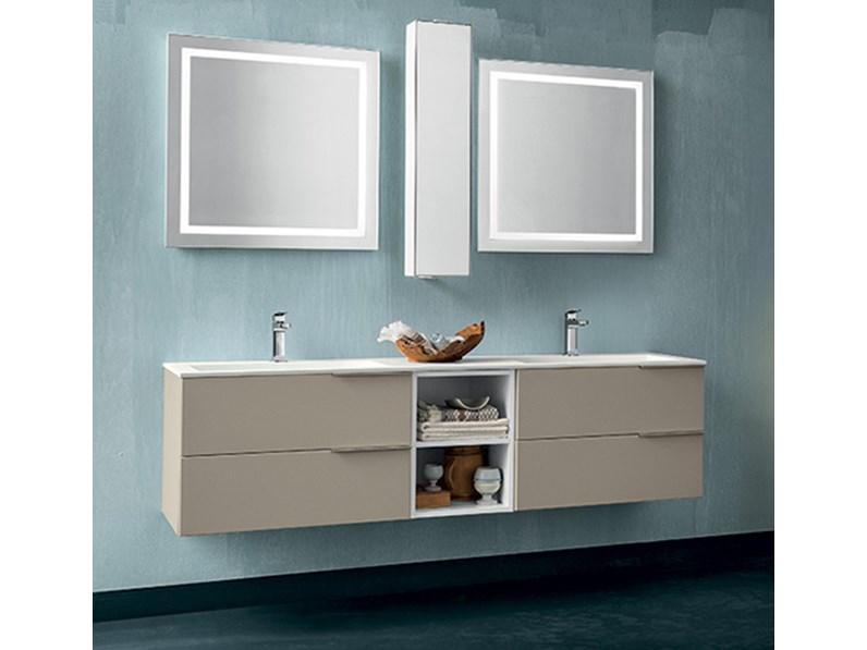 Mobile bagno con doppia specchiera by rab arredobagno for Nuovo arredo camerette prezzi