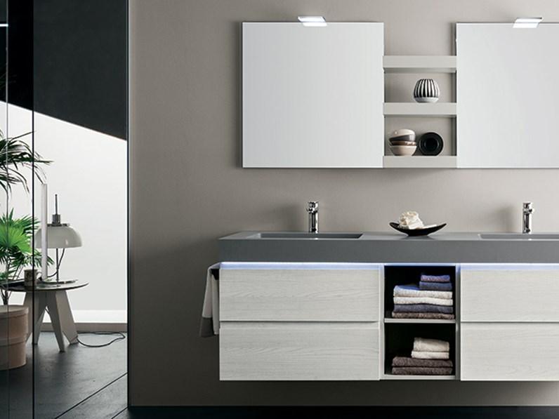 Mobile bagno con doppio lavabo by rab arredobagno nuovo - Rab arredo bagno ...