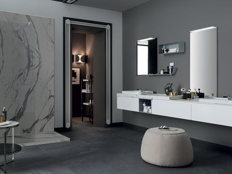 Mobile bagno con doppio lavabo, design RAB arredobagno, nuovo a ...