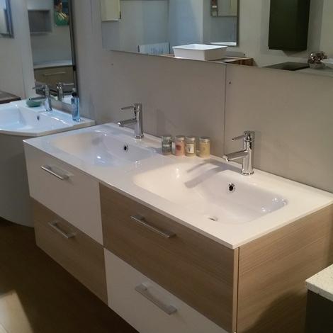 Mobile bagno con doppio lavabo arredo bagno a prezzi for Arredo bagno con due lavelli