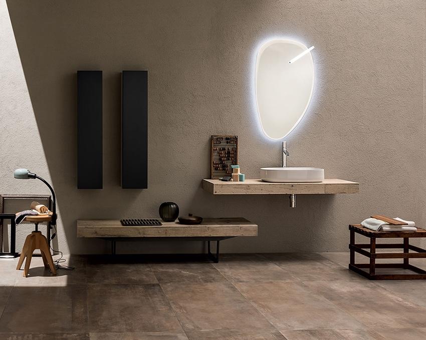 Mobile bagno con doppio mensolone by rab arredobagno for Nuovo arredo camerette prezzi