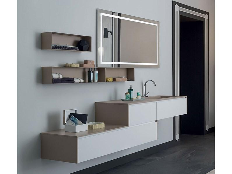 Mobile bagno, con specchio con serigrafia retroilluminata, by RAB ...