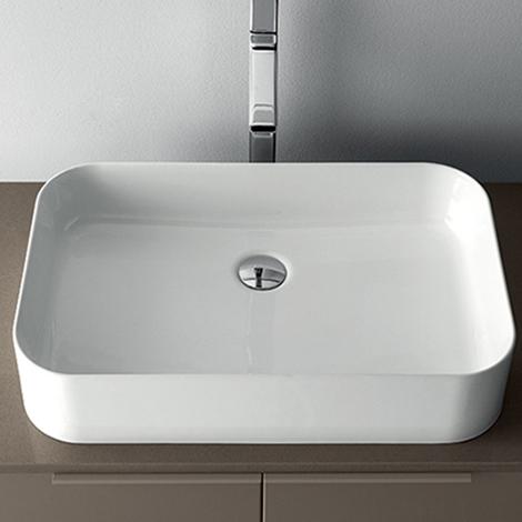 Mobile bagno con lavabo ad appoggio by rab arredobagno nuovo a prezzo scontato arredo bagno - Prezzi lavabo bagno con mobile ...