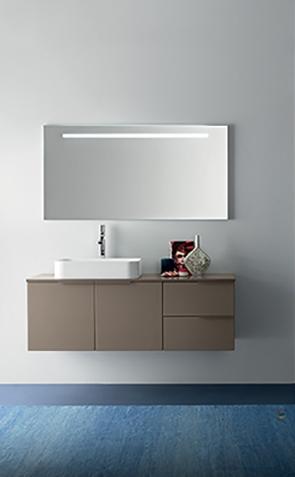 Mobile bagno con lavabo ad appoggio by rab arredobagno nuovo a prezzo scontato arredo bagno - Mobile bagno prezzo ...