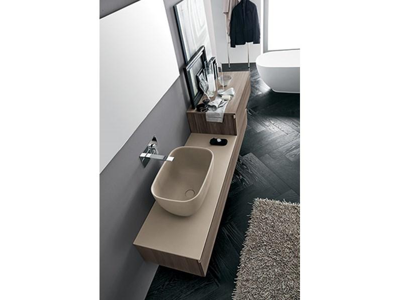 Mobile bagno con lavabo ad appoggio by rab arredobagno - Rab arredo bagno ...