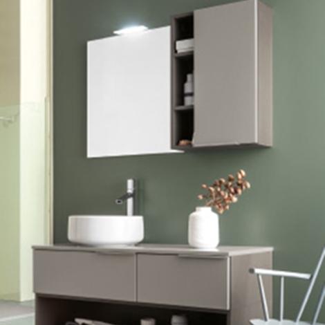 mobile bagno con lavabo in ceramica da appoggio by rab arredobagno nuovo scontato