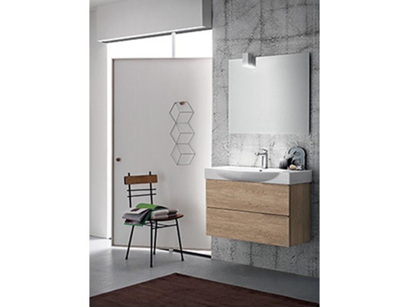Mobile bagno con lavabo in ceramica integrato by rab - Bagno nuovo prezzi ...