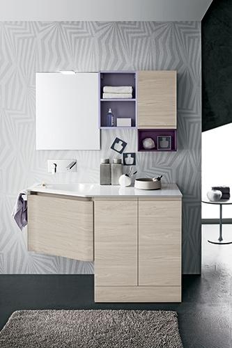 Mobile bagno con lavanderia by rab arredobagno nuovo a - Mobile bagno prezzo ...