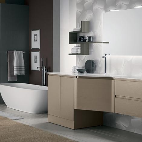 Mobile bagno con lavanderia by rab arredobagno nuovo - Bagno con lavanderia ...