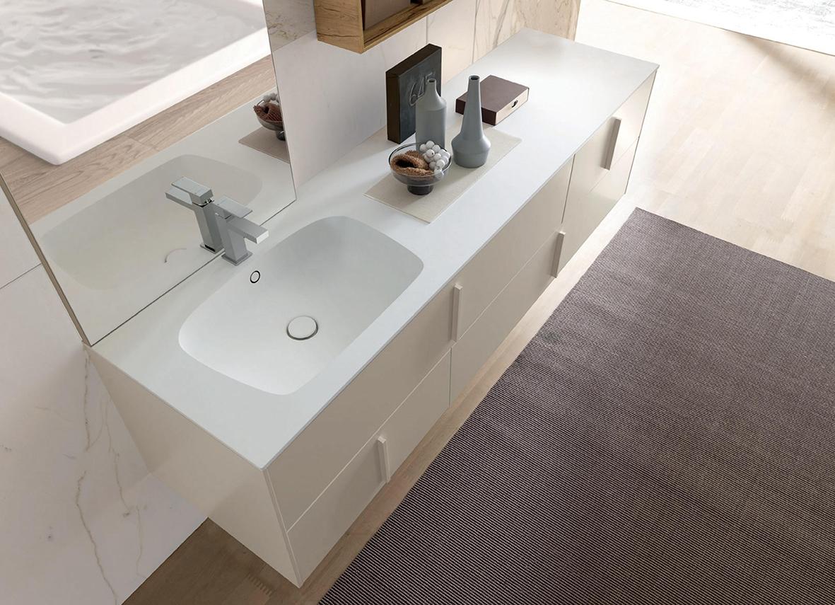 Mobile bagno con mensole contenitori a muro nuovo a - Mobile bagno prezzo ...