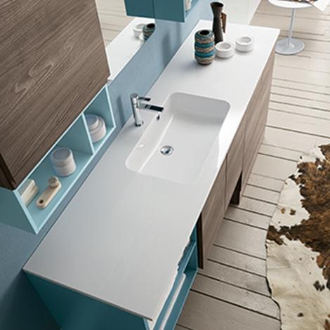 Mobile bagno con porta lavatrice by rab arredobagno - Mobile bagno con portalavatrice ...