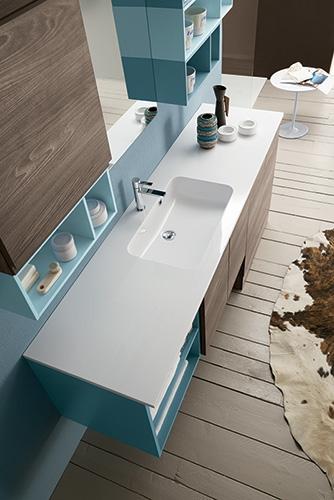 Mobile bagno con porta lavatrice by rab arredobagno - Bagno nuovo prezzi ...