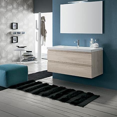 Mobile bagno con specchiera by rab arredobagno nuovo - Bagno nuovo prezzi ...