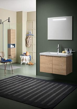 Mobile bagno con specchiera retroilluminata by rab for Nuovo arredo camerette prezzi