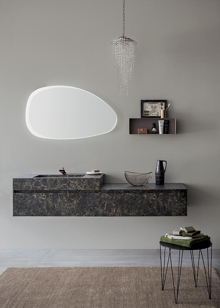 Mobile bagno con specchiera smussata by rab arredobagno for Nuovo arredo camerette prezzi